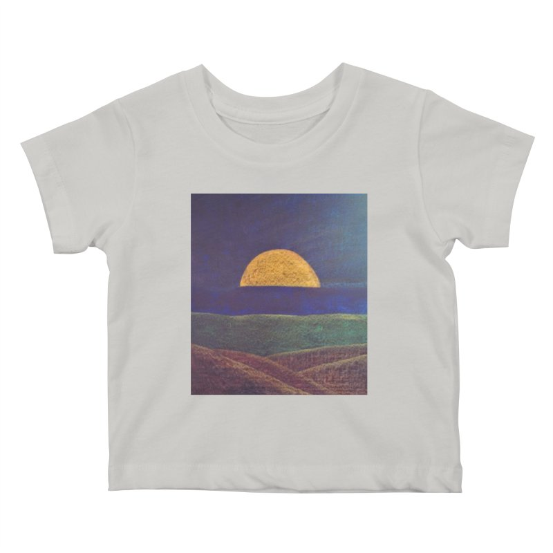 One for the Golden Sun Kids Baby T-Shirt by brusling's Artist Shop