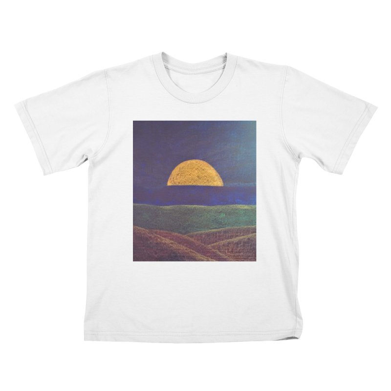 One for the Golden Sun Kids T-shirt by brusling's Artist Shop