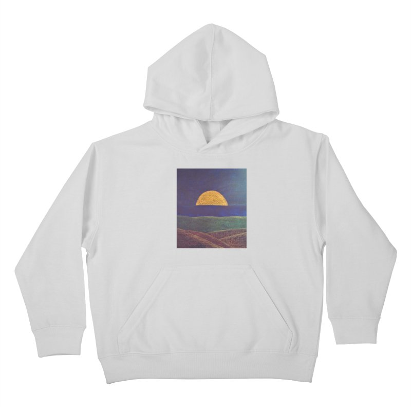 One for the Golden Sun Kids Pullover Hoody by brusling's Artist Shop