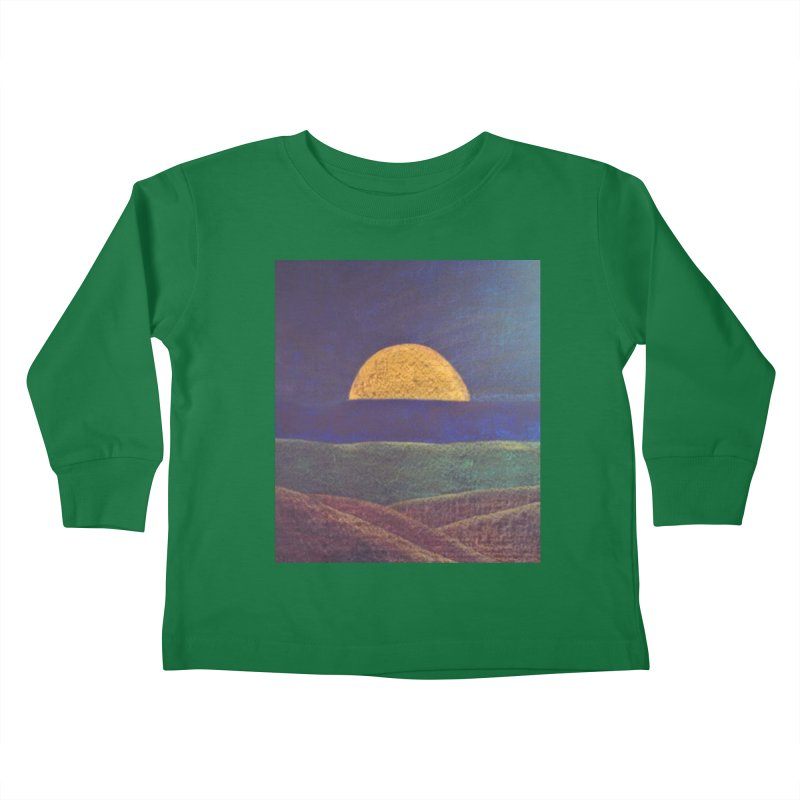 One for the Golden Sun Kids Toddler Longsleeve T-Shirt by brusling's Artist Shop