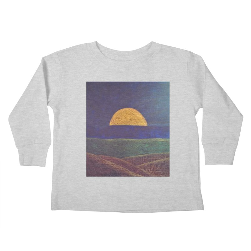 One for the Golden Sun Kids Toddler Longsleeve T-Shirt by brusling's Artist Shop