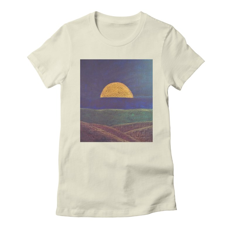 One for the Golden Sun Women's Fitted T-Shirt by brusling's Artist Shop