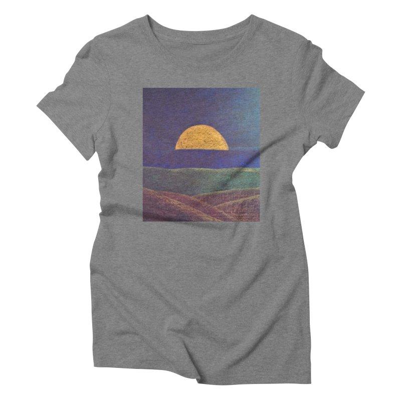 One for the Golden Sun Women's Triblend T-shirt by brusling's Artist Shop