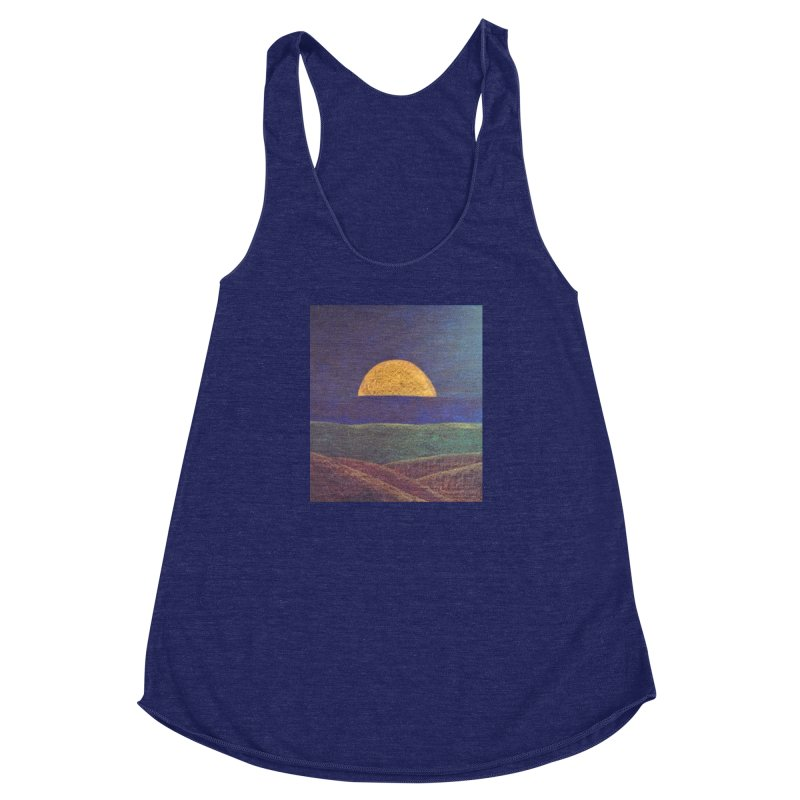 One for the Golden Sun Women's Racerback Triblend Tank by brusling's Artist Shop