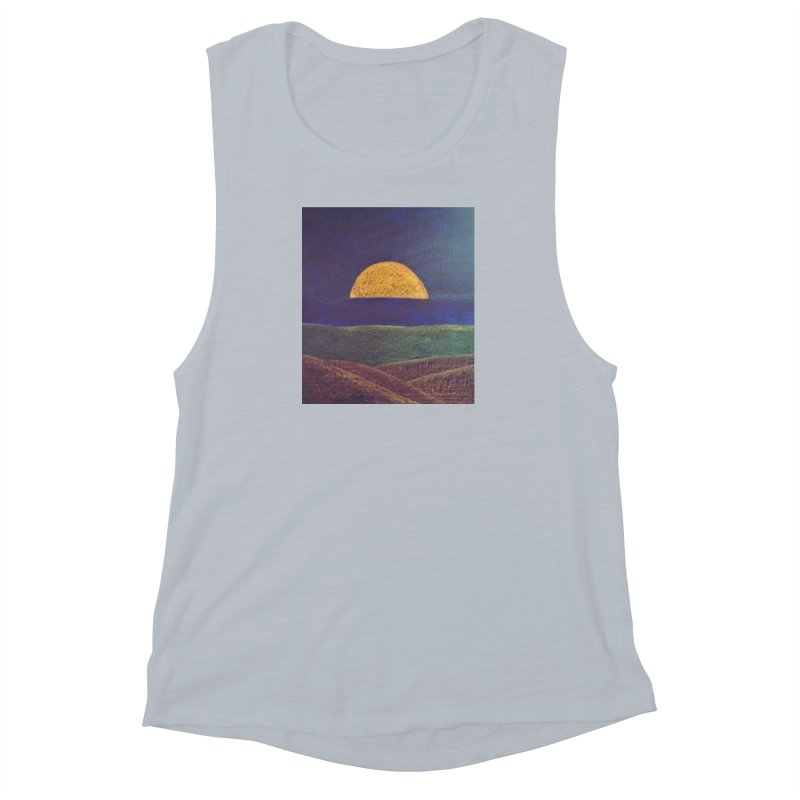 One for the Golden Sun Women's Muscle Tank by brusling's Artist Shop