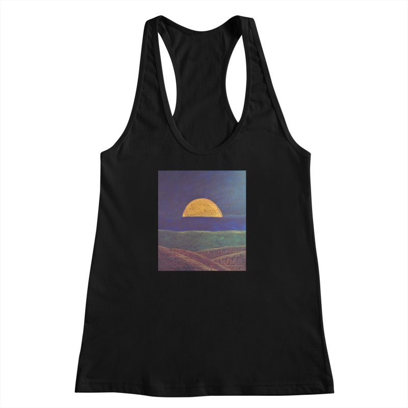 One for the Golden Sun Women's Racerback Tank by brusling's Artist Shop