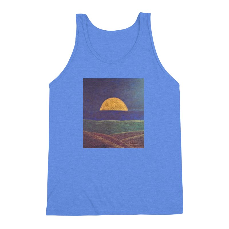 One for the Golden Sun Men's Triblend Tank by brusling's Artist Shop