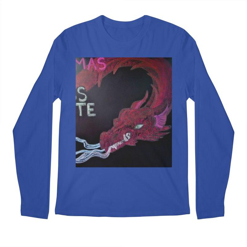 Michaelmas Dragon Men's Longsleeve T-Shirt by brusling's Artist Shop