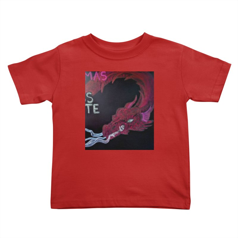 Michaelmas Dragon Kids Toddler T-Shirt by brusling's Artist Shop