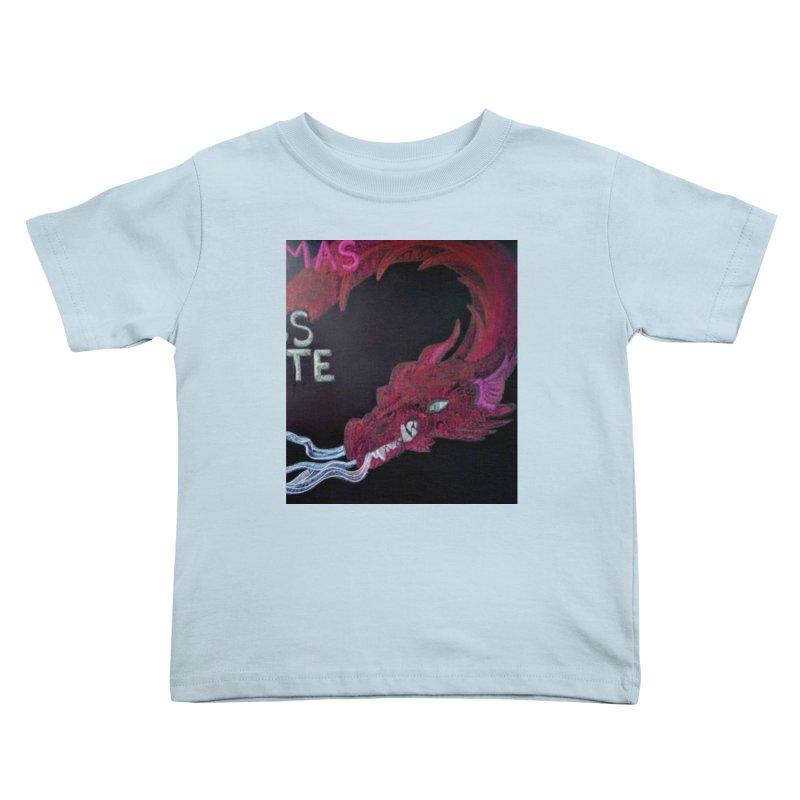 Michaelmas Dragon Kids Toddler T-Shirt by brusling's Artist Shop