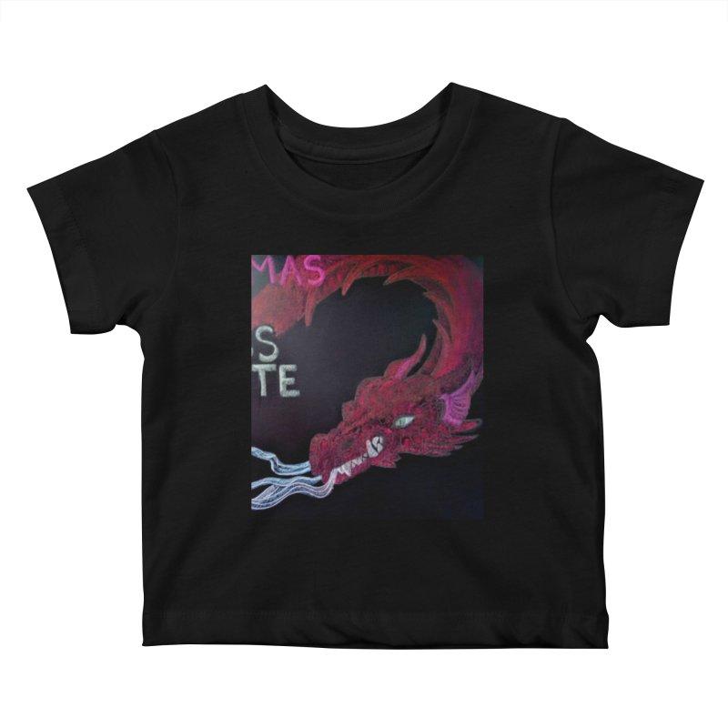 Michaelmas Dragon Kids Baby T-Shirt by brusling's Artist Shop