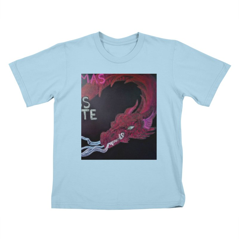 Michaelmas Dragon Kids T-Shirt by brusling's Artist Shop