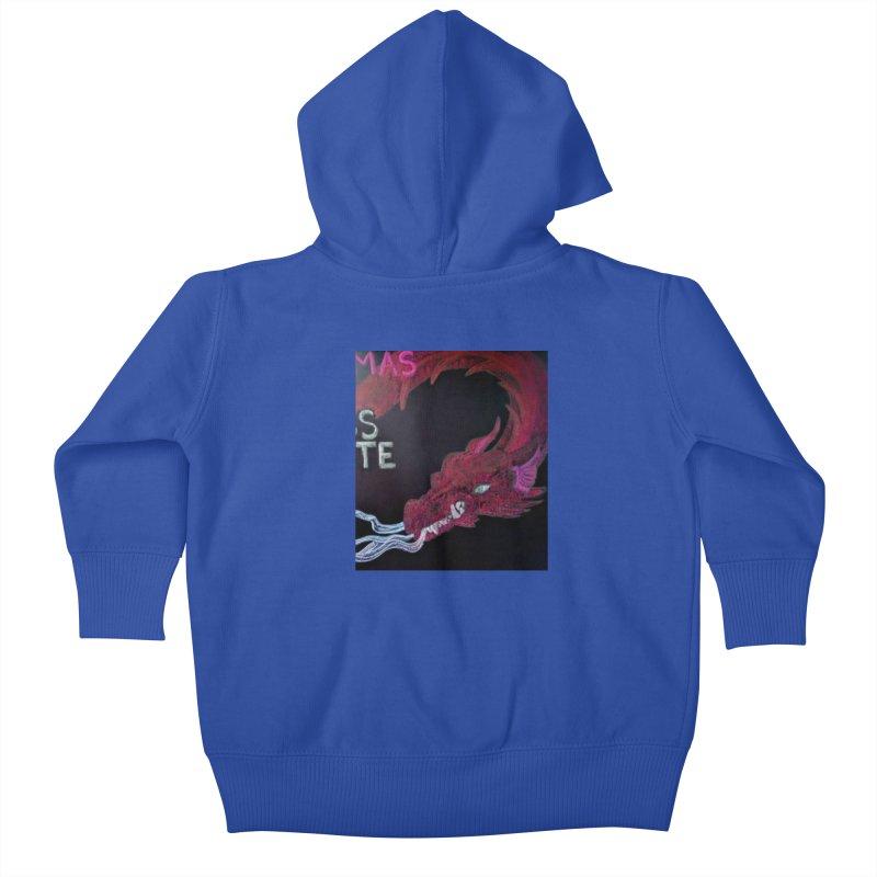 Michaelmas Dragon Kids Baby Zip-Up Hoody by brusling's Artist Shop