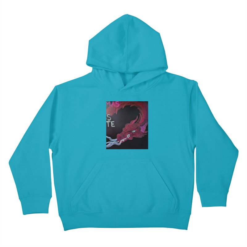 Michaelmas Dragon Kids Pullover Hoody by brusling's Artist Shop