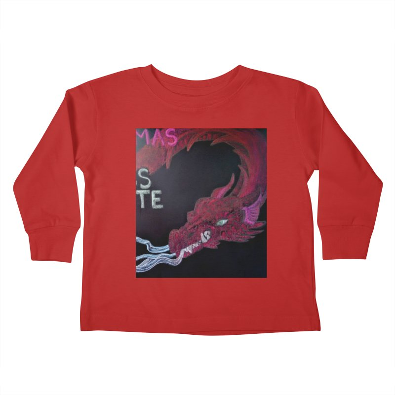 Michaelmas Dragon Kids Toddler Longsleeve T-Shirt by brusling's Artist Shop