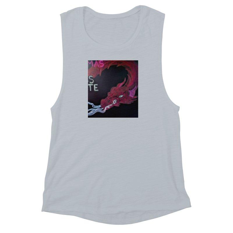 Michaelmas Dragon Women's Muscle Tank by brusling's Artist Shop