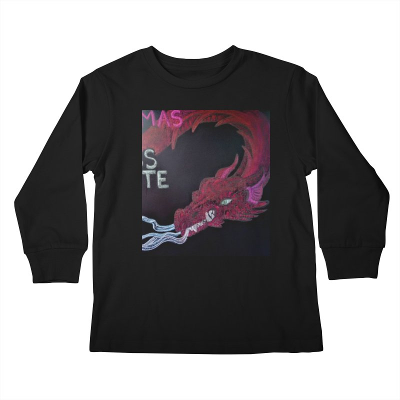 Michaelmas Dragon Kids Longsleeve T-Shirt by brusling's Artist Shop