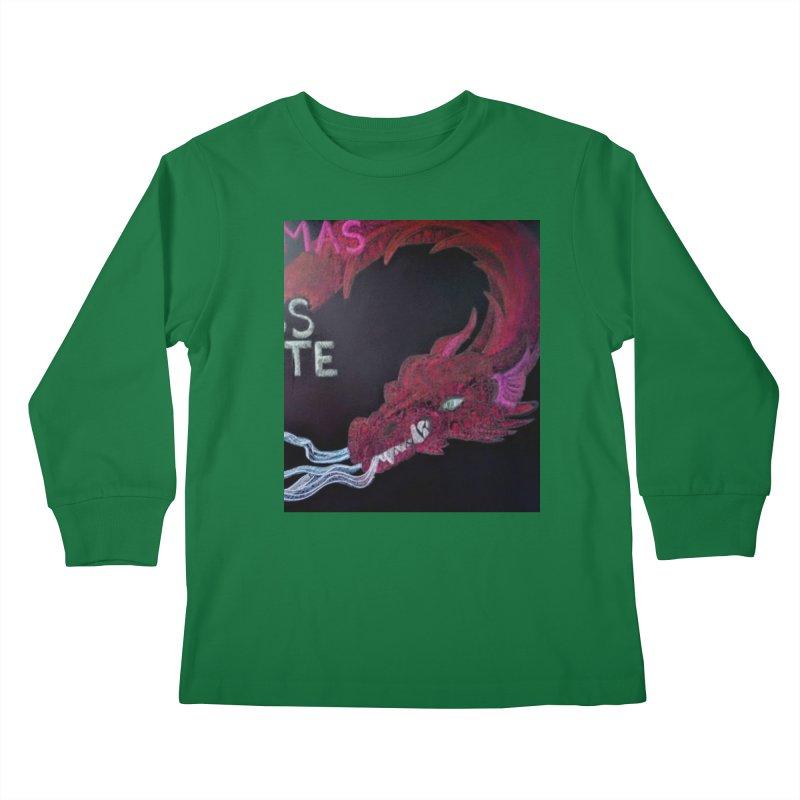 Michaelmas Dragon Kids Longsleeve T-Shirt by brusling's Artist Shop
