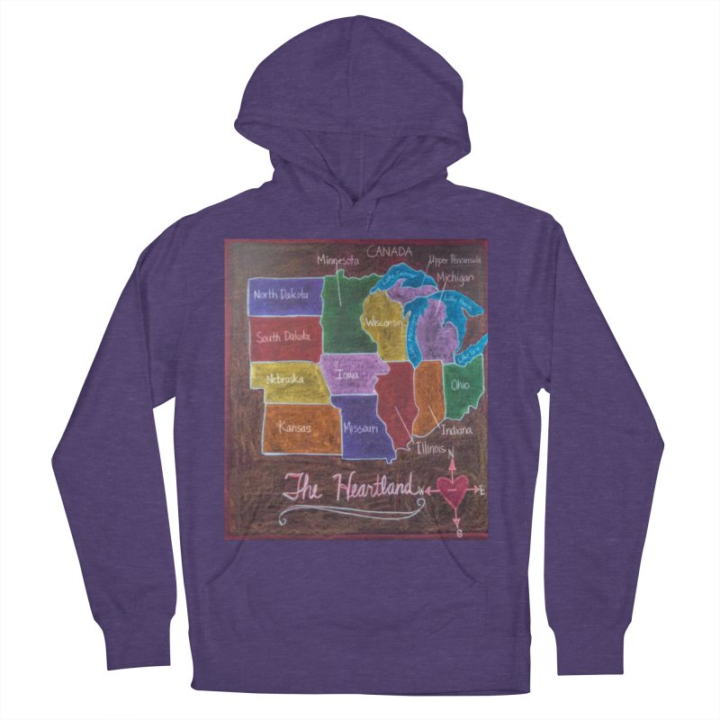 The Heartland Women's Pullover Hoody by brusling's Artist Shop