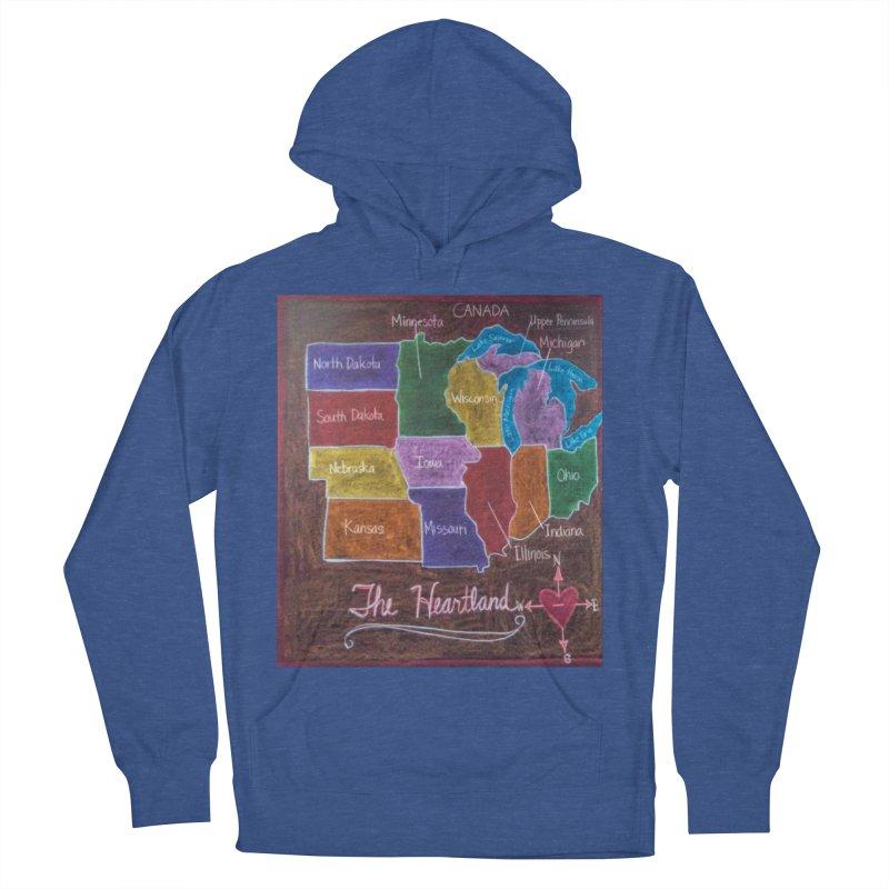 The Heartland Men's Pullover Hoody by brusling's Artist Shop
