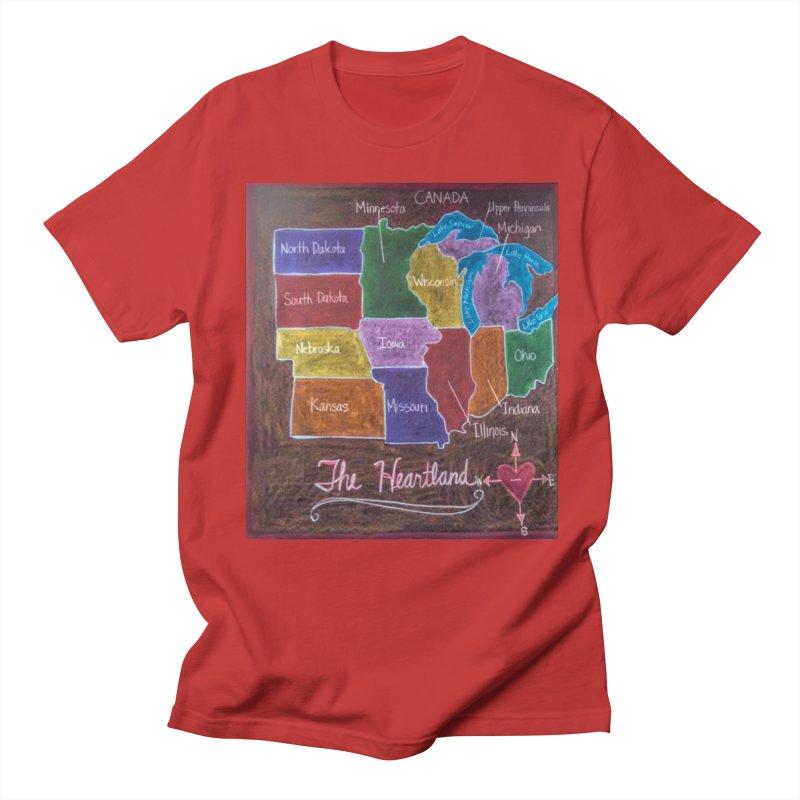The Heartland Men's T-Shirt by brusling's Artist Shop