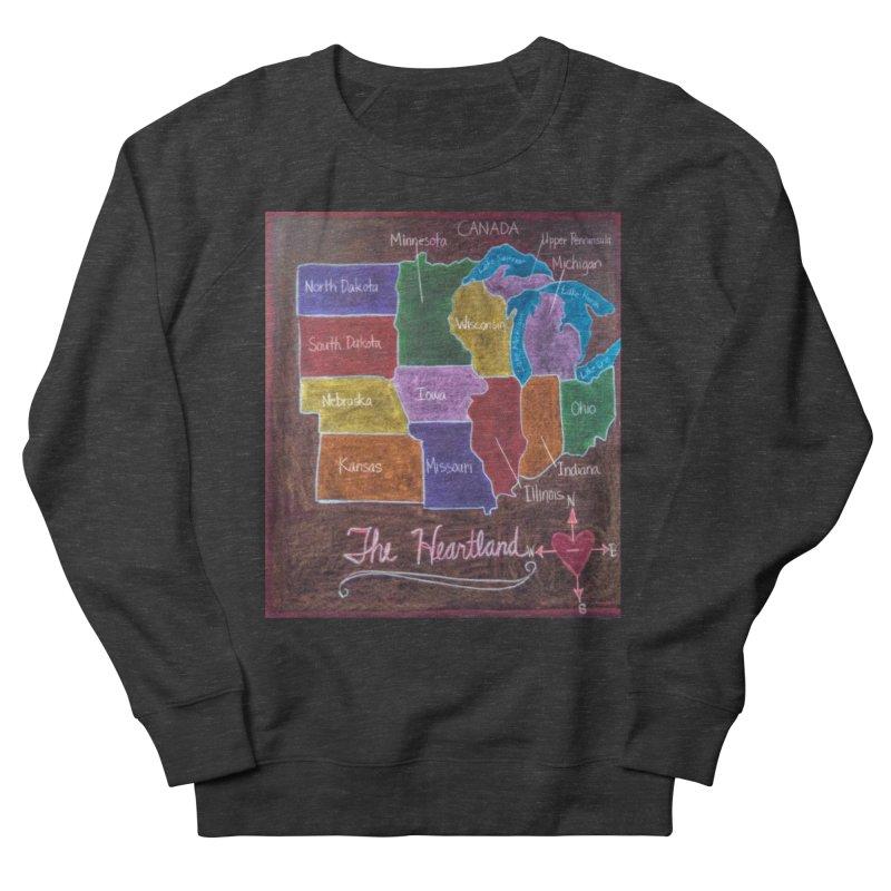 The Heartland Men's Sweatshirt by brusling's Artist Shop