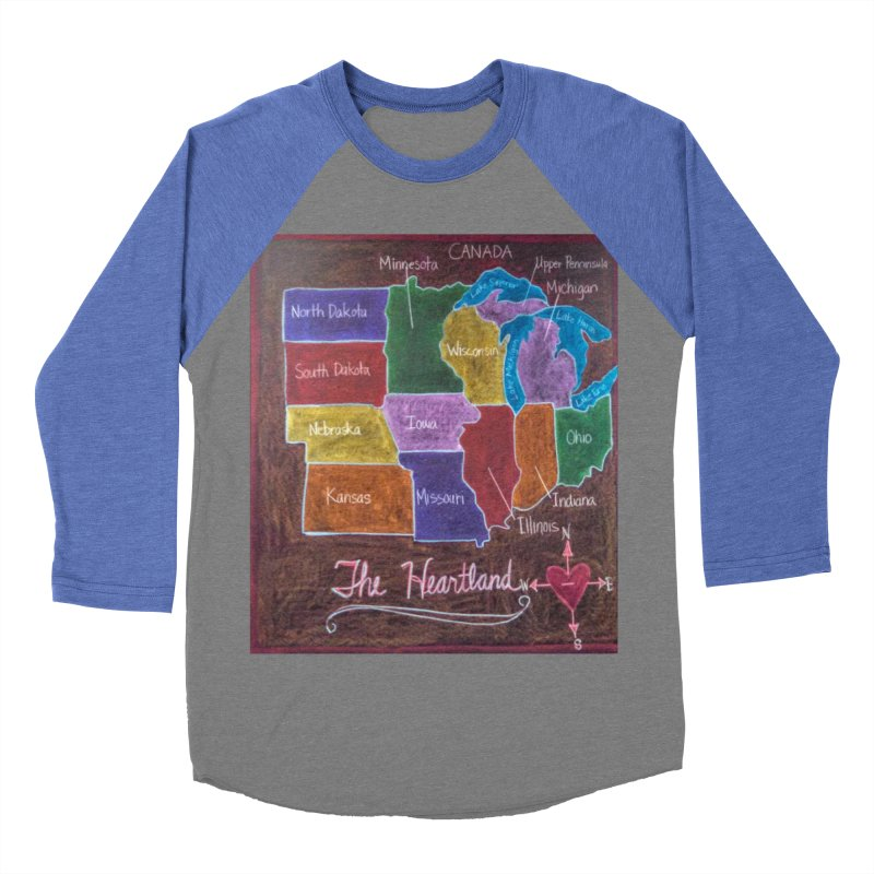 The Heartland Women's Baseball Triblend T-Shirt by brusling's Artist Shop