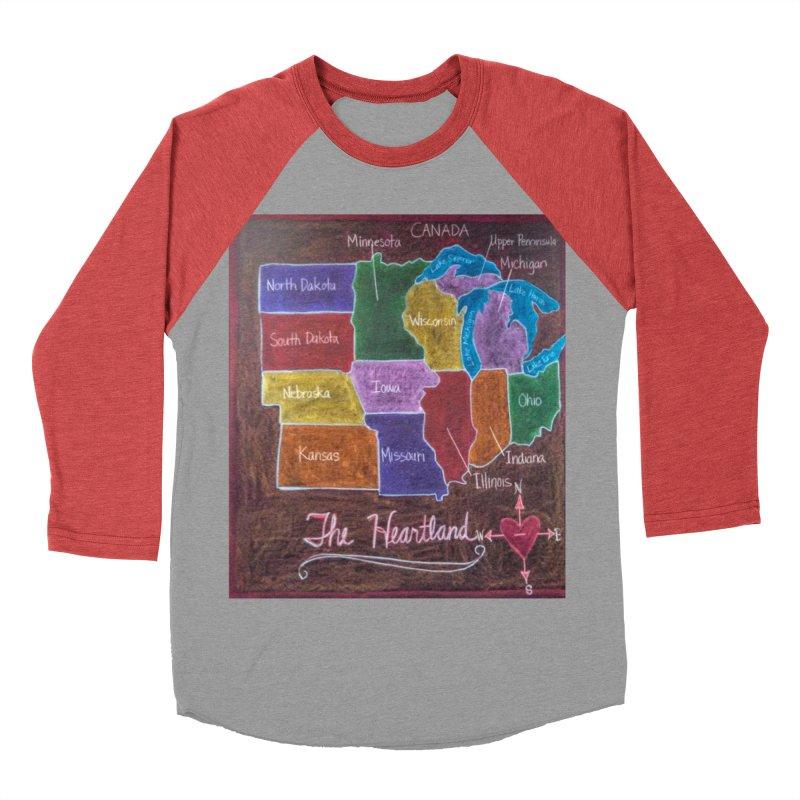 The Heartland Men's Baseball Triblend T-Shirt by brusling's Artist Shop