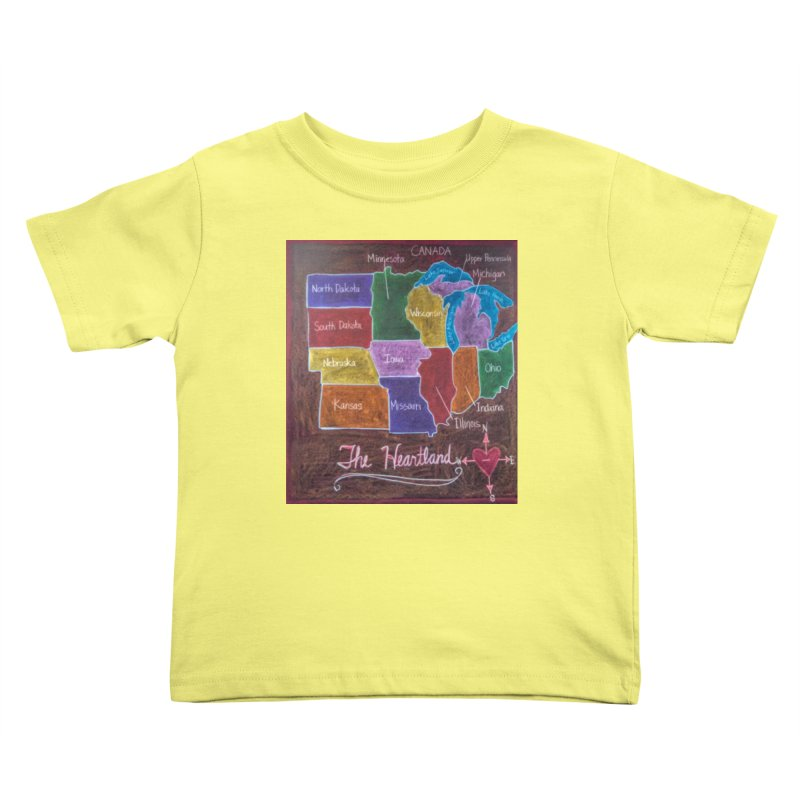 The Heartland Kids Toddler T-Shirt by brusling's Artist Shop