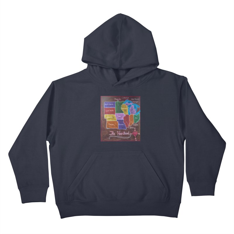 The Heartland Kids Pullover Hoody by brusling's Artist Shop