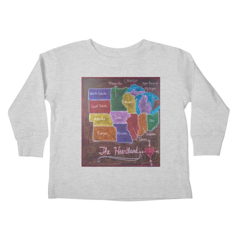 The Heartland Kids Toddler Longsleeve T-Shirt by brusling's Artist Shop