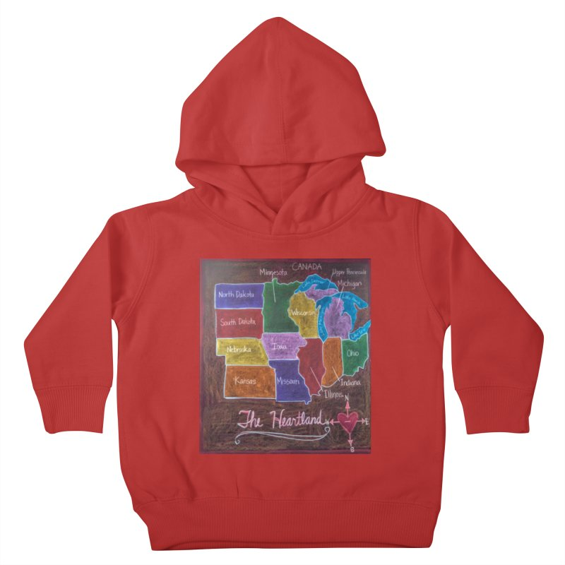 The Heartland Kids Toddler Pullover Hoody by brusling's Artist Shop