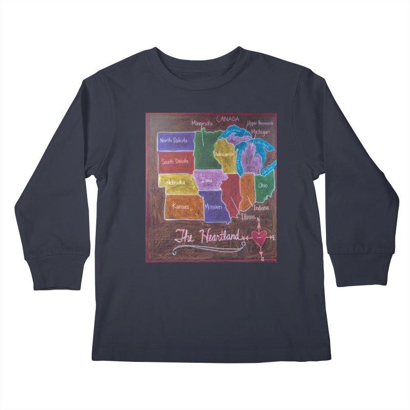 The Heartland Kids Longsleeve T-Shirt by brusling's Artist Shop