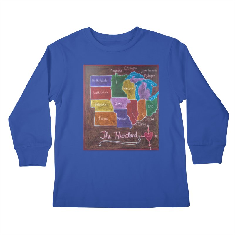 The Heartland Kids Longsleeve T-Shirt by brusling's Artist Shop