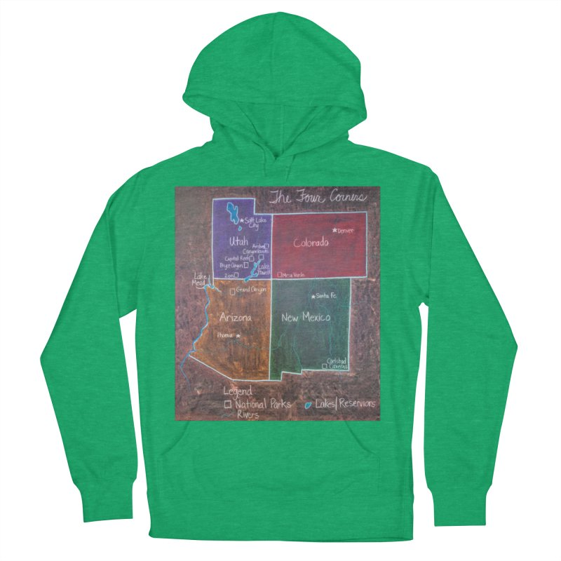 Four Corners Men's Pullover Hoody by brusling's Artist Shop