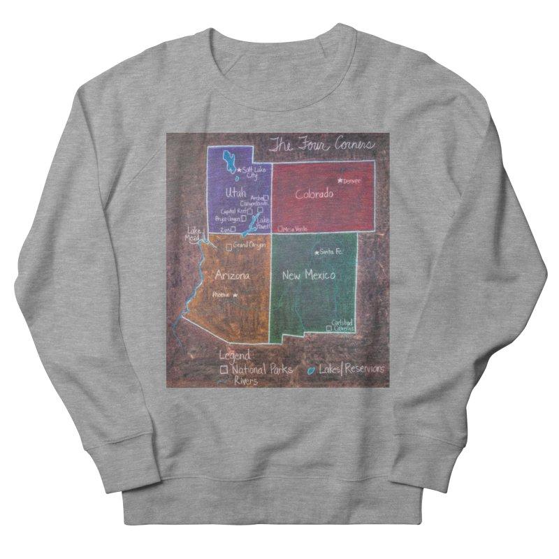 Four Corners Men's Sweatshirt by brusling's Artist Shop