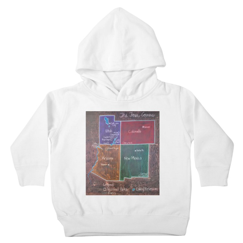 Four Corners Kids Toddler Pullover Hoody by brusling's Artist Shop