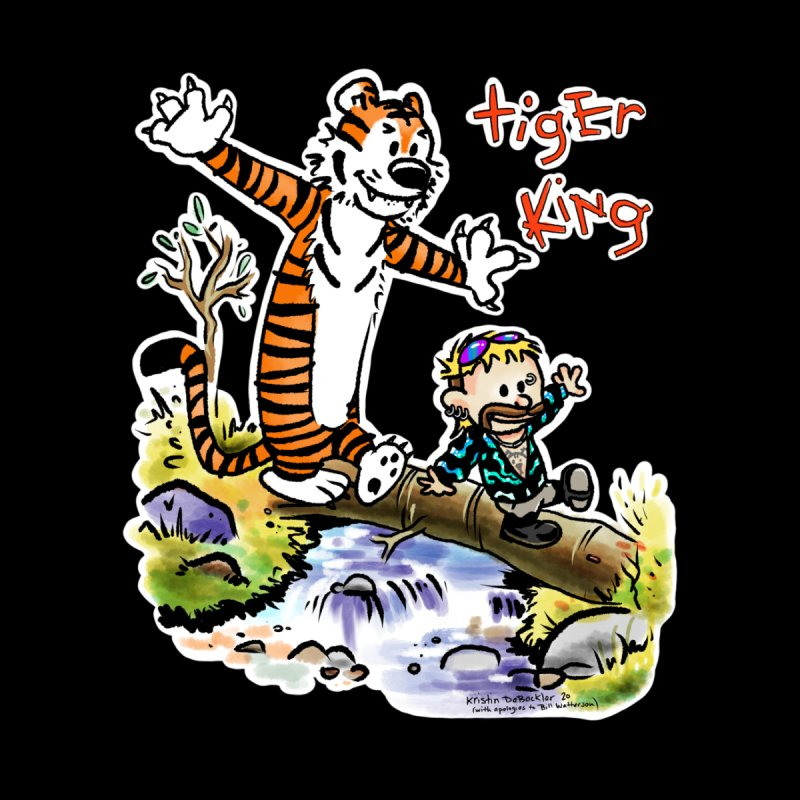 Tiger and King Home Blanket by brutalsquid's Artist Shop