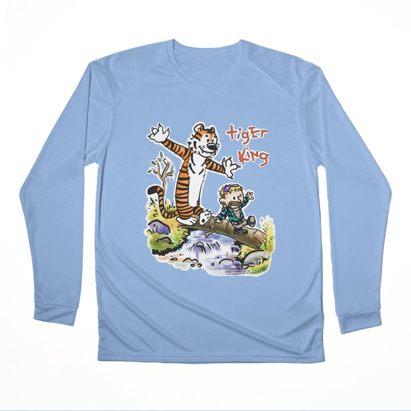 Tiger and King Women's Longsleeve T-Shirt by brutalsquid's Artist Shop