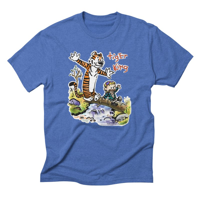 Tiger and King Men's T-Shirt by brutalsquid's Artist Shop