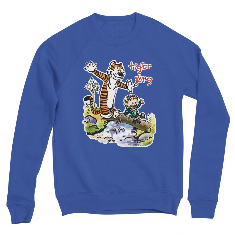 Tiger and King Men's Sweatshirt by brutalsquid's Artist Shop