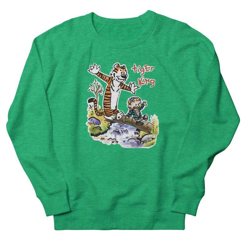 Tiger and King Women's Sweatshirt by brutalsquid's Artist Shop