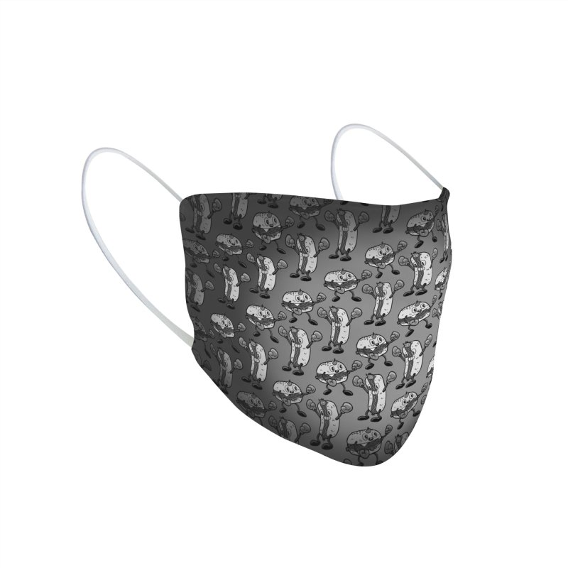 Olde time BBQ brawl Accessories Face Mask by brutalsquid's Artist Shop