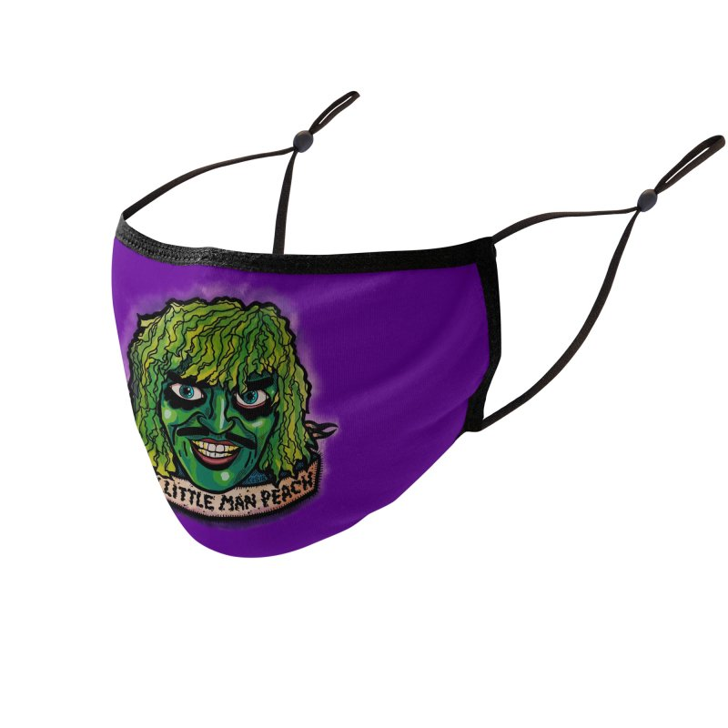Manpeach Accessories Face Mask by brutalsquid's Artist Shop