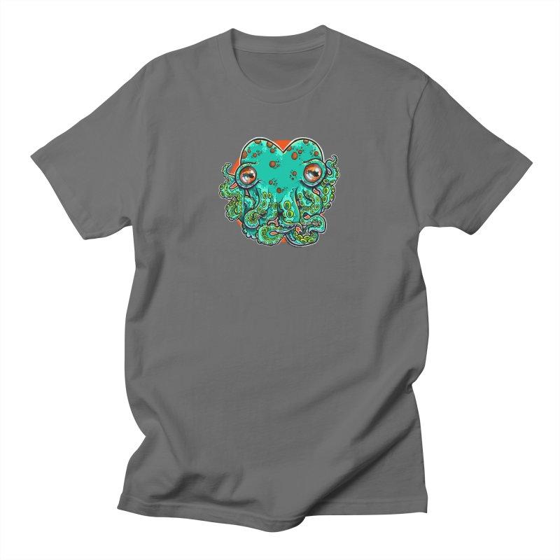 Cthulhu Heart Men's T-Shirt by brutalsquid's Artist Shop
