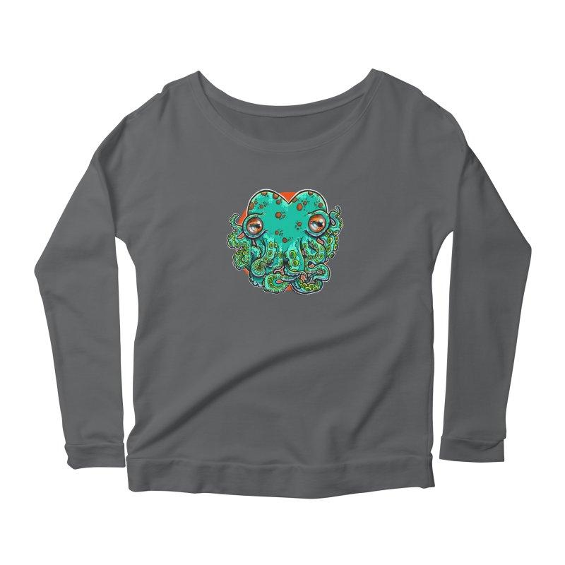 Cthulhu Heart Women's Longsleeve T-Shirt by brutalsquid's Artist Shop
