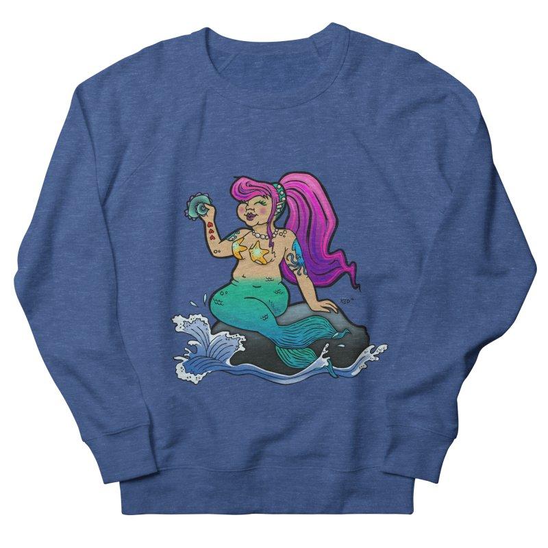 Chubby Mermaid Men's Sweatshirt by brutalsquid's Artist Shop