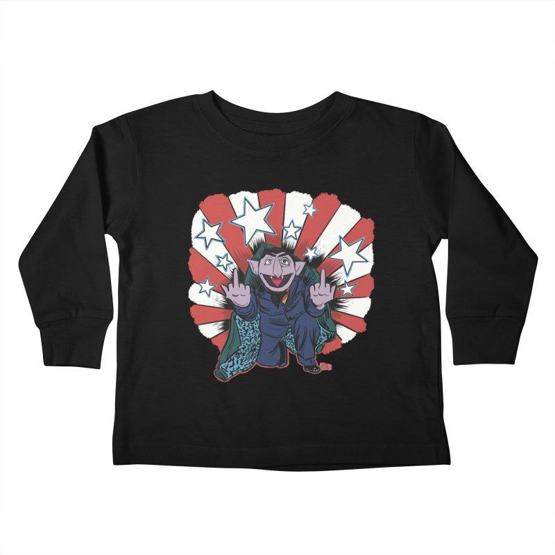 Count Kids Toddler Longsleeve T-Shirt by brutalsquid's Artist Shop