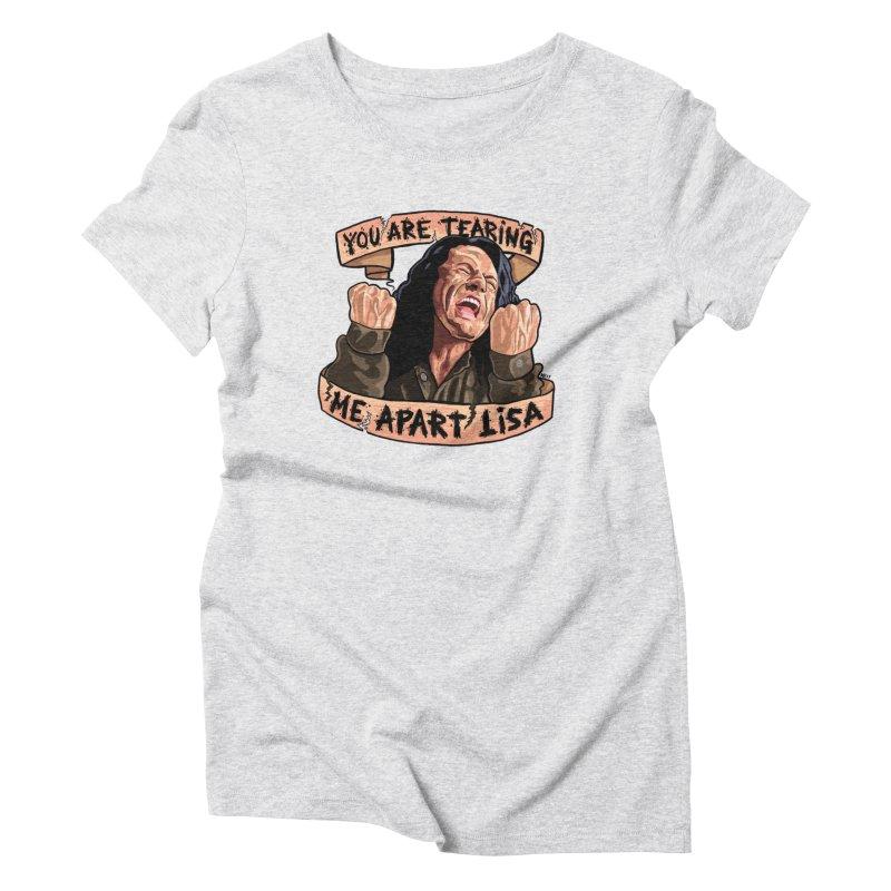 Tearing Me Apart Women's T-Shirt by brutalsquid's Artist Shop