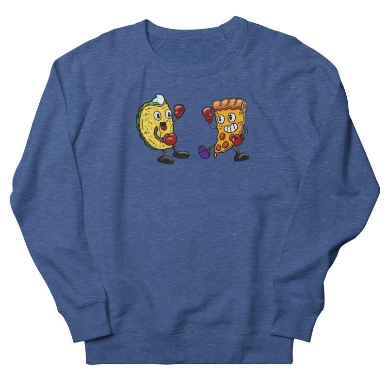 Food Fight I Men's Sweatshirt by brutalsquid's Artist Shop
